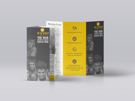 Kyvor Genomics | Brochure Design