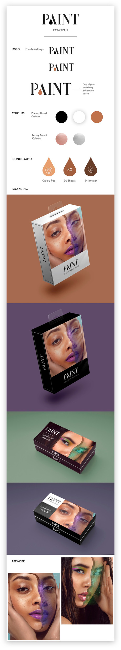 Brand Identity | Paint Cosmetics