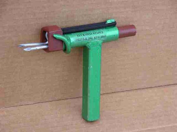 Tuckaway Hand Driver staple manual installation tool