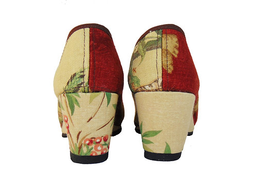 Tailor shoes-Red Jungle
