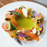Seasonal Vegetable Salad from Gravitas