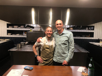 Johnny Spero (Chef/Restaurant Owner) & Ryan Pierce (Fresh Impact Farm's CEO)