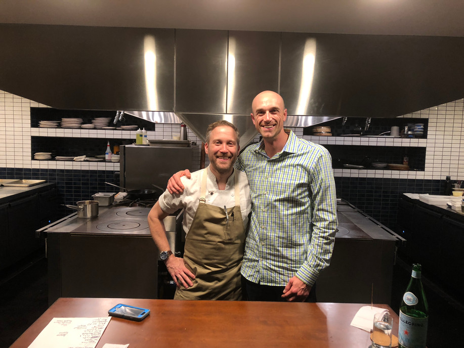 Johnny Spero (Chef/Restaurant Owner) & Ryan Pierce (Fresh Impact Farm's CEO)