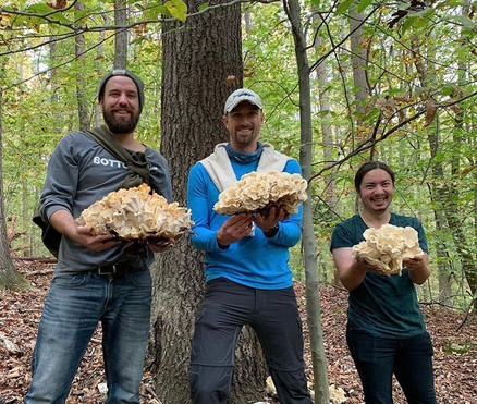 Mushroom Foraging with Friends