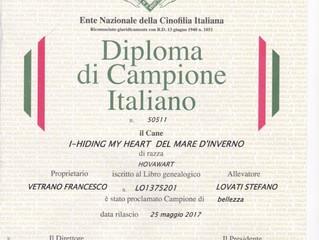 Nuovo Campione Italiano
