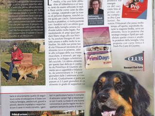 """Il Mare d'Inverno sulla rivista """"Il mio cane"""""""