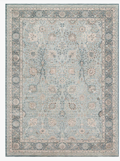 Dark Blue Persian Rug