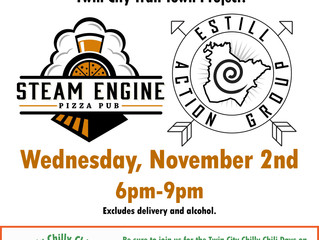 Join us for Fundraising night at Steam Engine!