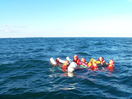 In Water Survivability Exercise