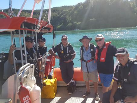 Orientation Cruise for our Radio Operators