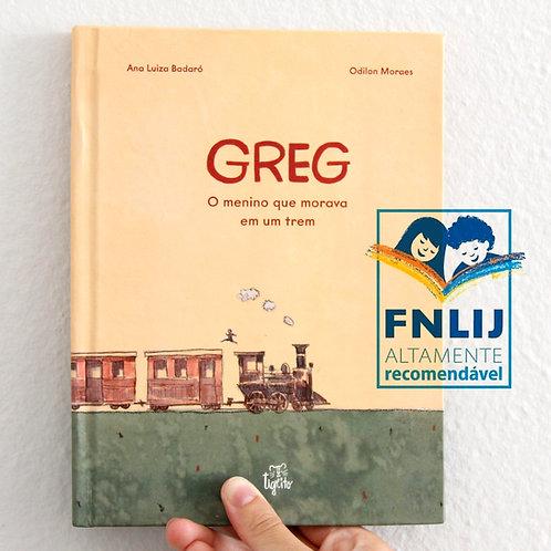Greg o menino que morava em um trem