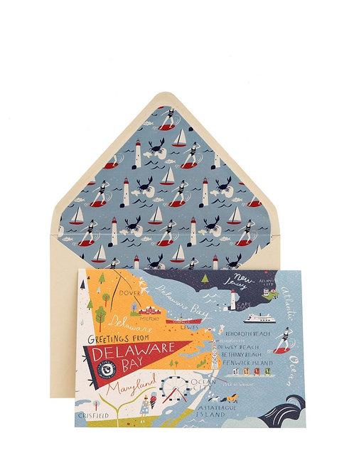 DELAWARE BAY GREETING CARD