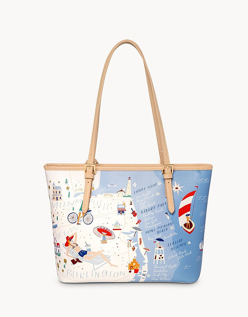 DOWN THE SHORE SMALL TOTE