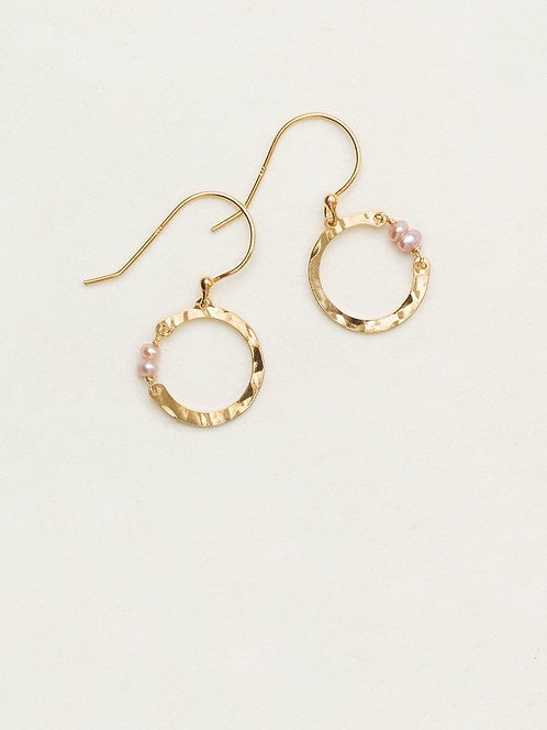 HOLLY YASHI SMALL PHOEBE HOOP EARRINGS