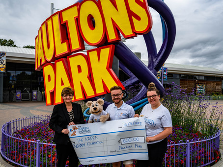 Local charity gets support from Hampshire Theme Park