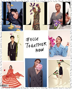 ELLE Cover ELLE Together Now Cover 2020