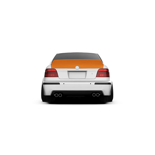 "BMW 5er. (E39/M5) ""1995-2004 Rear Spoiler Duck Tail."