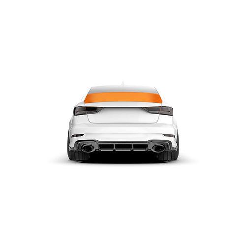 Audi A3 (8V) '2012- Rear Spoiler Duck Tail.