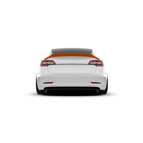 Tesla Model 3 Rear Spoiler Duck Tail.