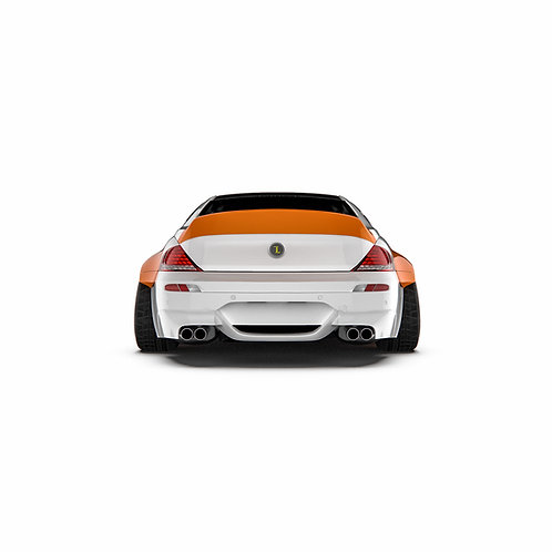 "BMW 6er. M6 (E63/E64) ""2005-2010 Rear Spoiler Duck Tail."