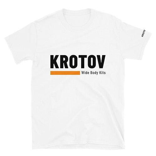 Krotov White Unisex T-Shirt