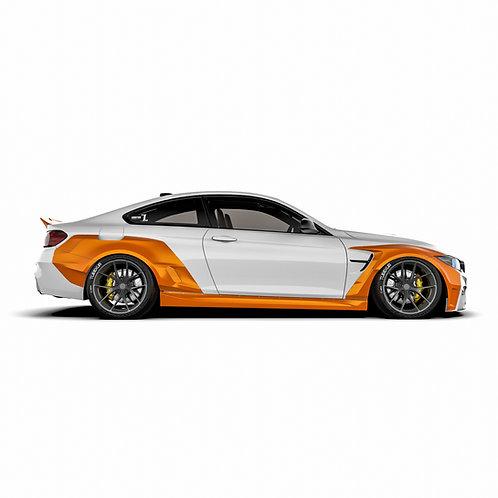 BMW 4er. M4 (F82/F32) Wide Body Kit