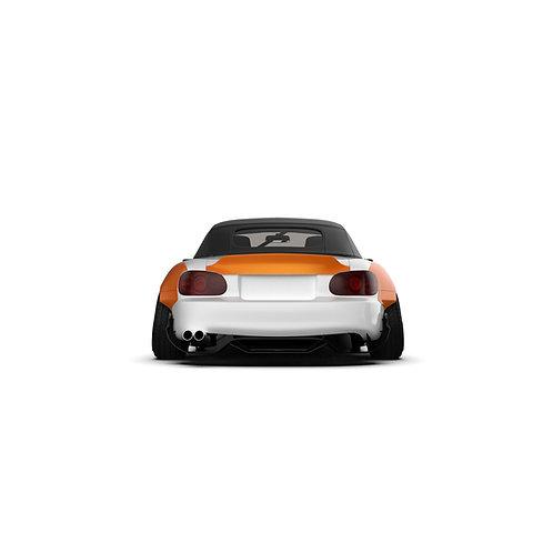 Mazda Miata / MX-5 (NB) '1998-2005 Rear Spoiler Duck Tail.
