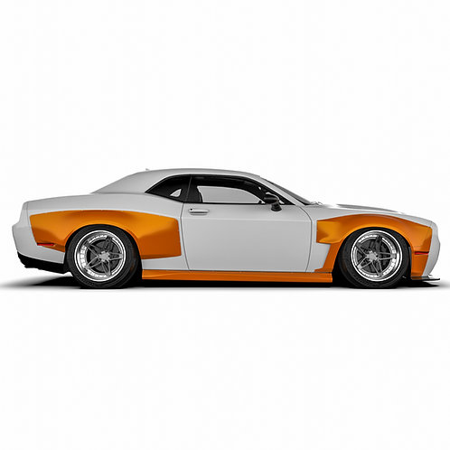 "Dodge Challenger ""2008- Wide Body Kit"
