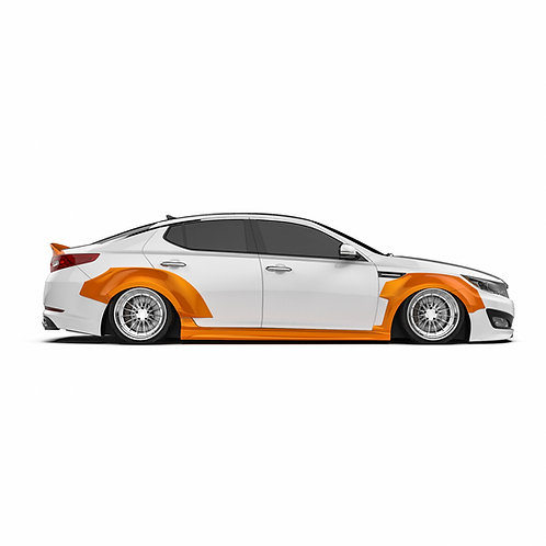 "KIA Optima (K5) ""2011-2013 Wide Body Kit"