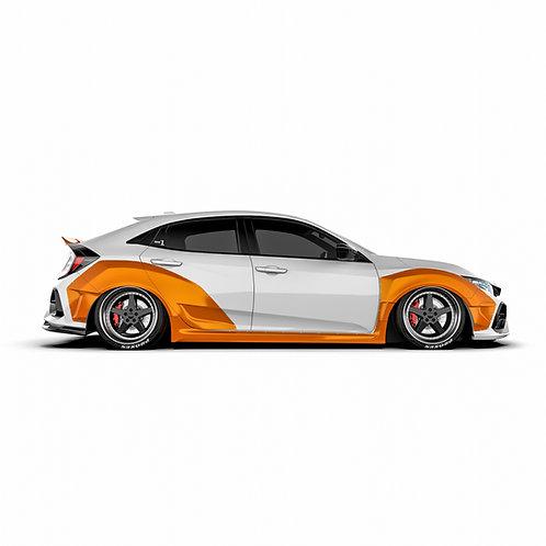 "Honda Civic X (FK7) Hatchback ""15-"
