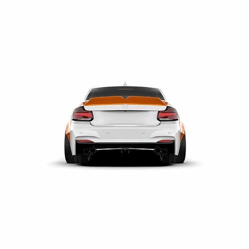 BMW 2er. (F22) M2 Rear Spoiler Duck Tail