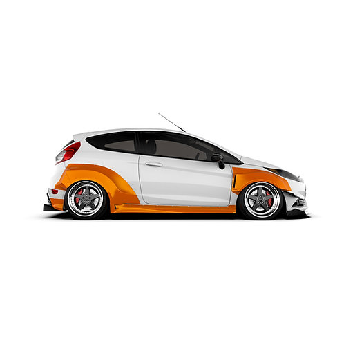 Ford Fiesta (MK7) 3DR Wide Body Kit