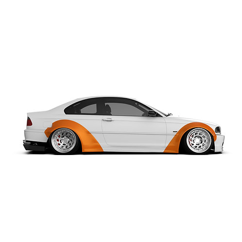 BMW 3er. (E46 Coupe) Wide Body Kit