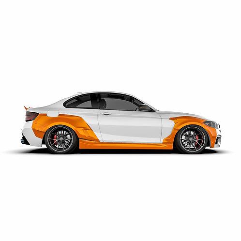 BMW 2er. (F22) Wide Body Kit
