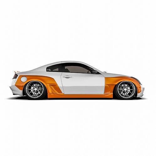 Infiniti G35 Coupe Wide Body Kit