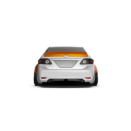 Toyota Corolla (E140) Rear Spoiler Duck Tail.