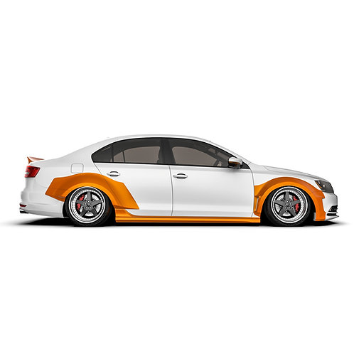 "Volkswagen Jetta (MK6) ""2011-2018 Wide Body Kit"