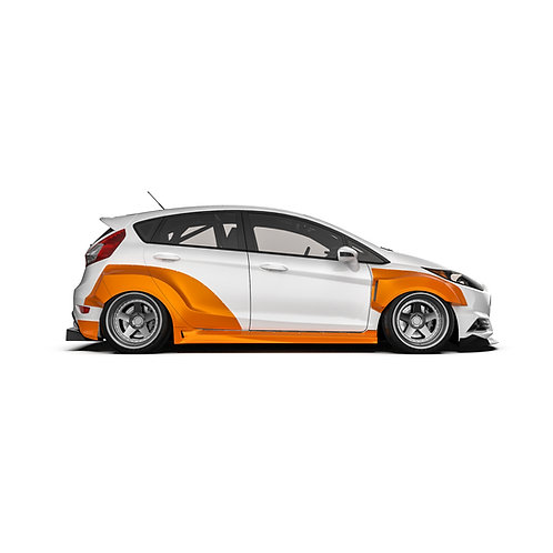 Ford Fiesta (MK7) 5DR Wide Body Kit