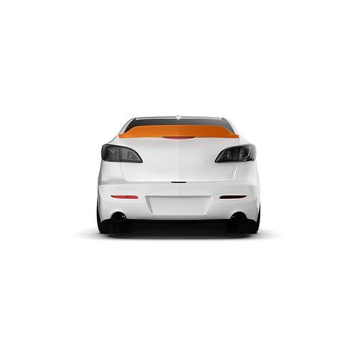 """Mazda 3 (BL) """"2009-2013 Rear Spoiler Duck Tail."""