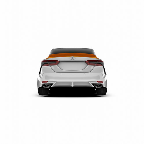 Toyota Camry  (XV70) Rear Spoiler Duck Tail.