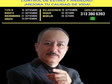 Seminario                                  CONTROL DE ESTRÉS Y ANSIEDAD ¡MEJORA TU CALIDAD DE VIDA!