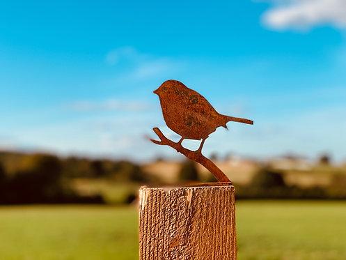 Simple Rusty Metal Bird