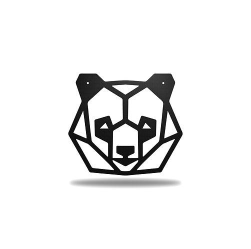 Geometric Panda Head