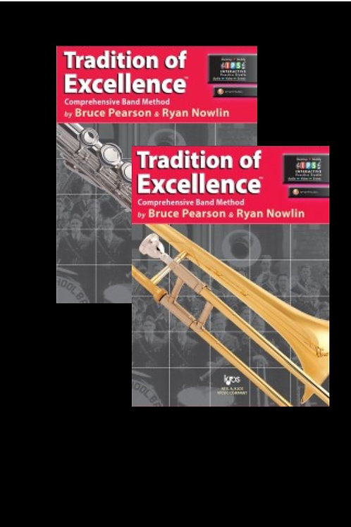 Tradition of Excellence Book 1 Tenor saxophone