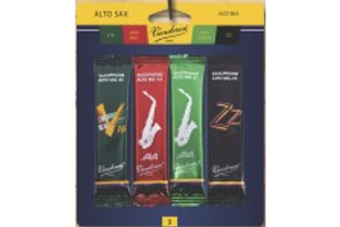 Size 3.5 alto sax Van Doren Jazz mix card of 4