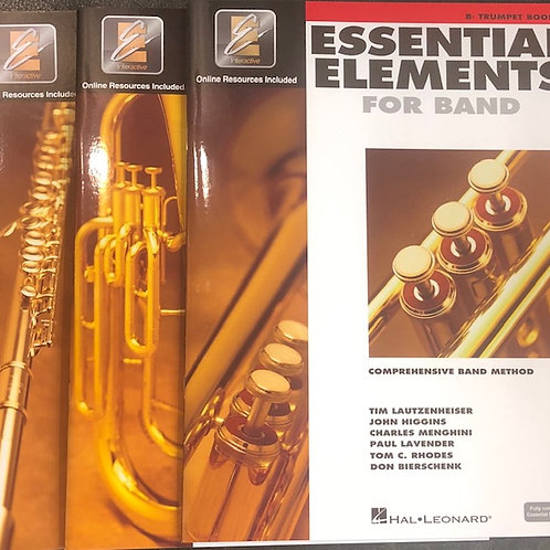 Essential Elements for Band book 2 Baritone saxophone