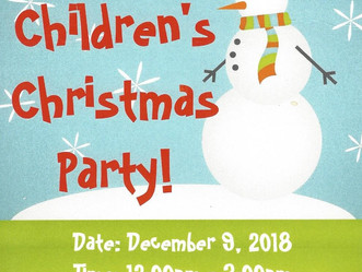 HOA Christmas Parties December 8th and 9th!