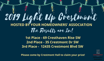 2019 Light Up Winners!