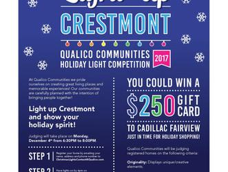 Qualico Holiday Light Contest