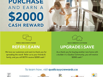Refer and Earn! Upgrade and Save!